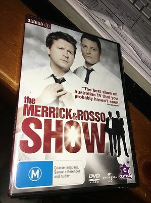 The Merrick & Rosso Show : Series 1 (DVD, 2009, 2-Disc Set) Brand New Sealed