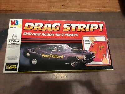DRAG STRIP GAME Vintage