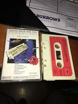 LLOYD COLE & THE COMMOTION  EASY PIECES Cassette Tape