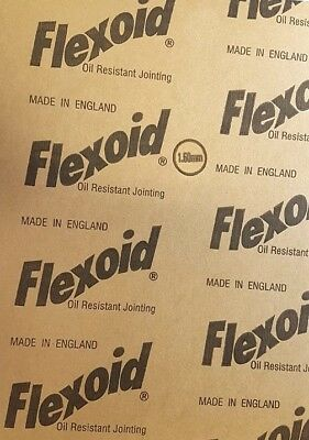 Genuine Flexoid Gasket Paper A4 size Sheet (Free UK Postage) 1.60mm Thick