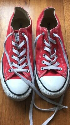 Converse Chuck Taylor All Star Classic Colour Low Top Red