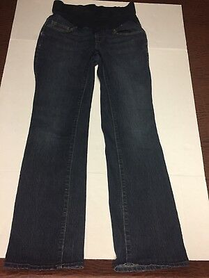 Oh Baby by Motherhood Maternity Blue Flare Jeans- size Small