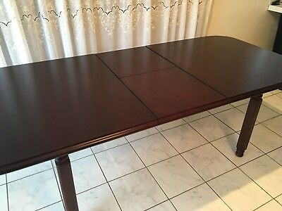 Table Dining Mahogany