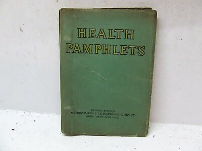 Health Pamplets Met Life 1934 Family Food Supply