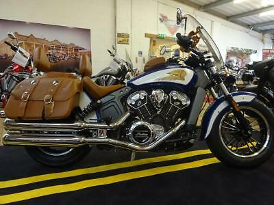 2017 Indian Scout 2-Tone With Touring Package - 5 YEARS WARRANTY