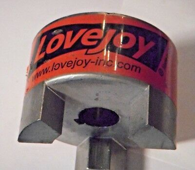 """New Lovejoy L110 X .875"""" WITH A KEYWAY AND SET SCREW JAW COUPLING"""