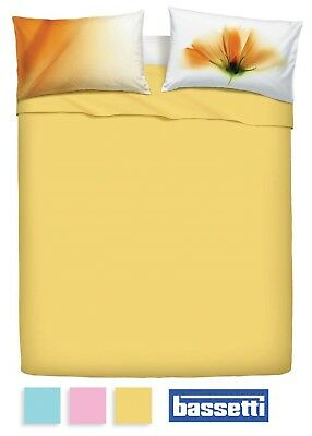 Home Garden Cotton Bedding Bassetti Paget Single 1 Square Double 2 Squares Bedding