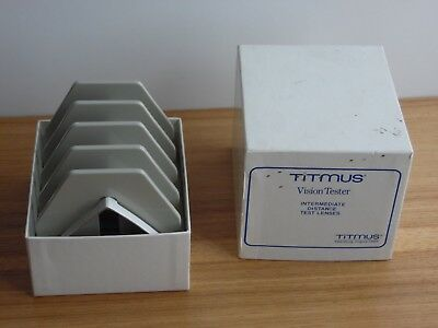 Titmus vision tester intermediate distance test lenses in box