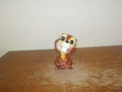 Vintage 1950's Kreiss & Co Cute Little Beaver Ceramic Figurine