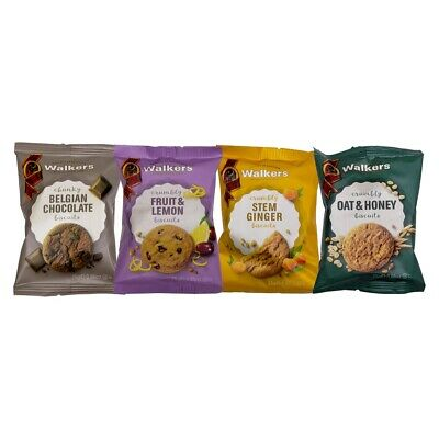 Walkers Mini Assorted Biscuit Packs (100 2 Pack Biscuits)