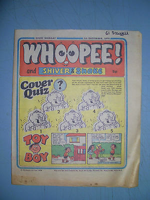 Whoopee issue dated December 7 1974 Ken Reid World Wide Weirdie