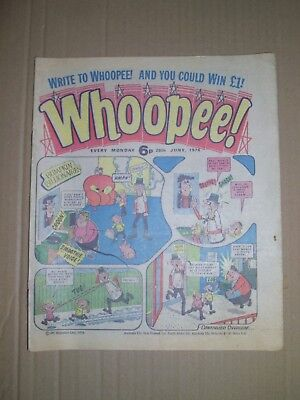 Whoopee issue dated June 26 1976 Ken Reid World Wide Weirdie