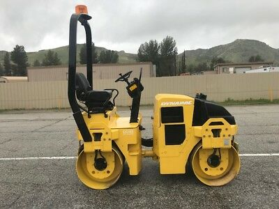 Dynapac Cc122 Vibratory Smooth Drums Roller 1214 Hours Only , Ex California City