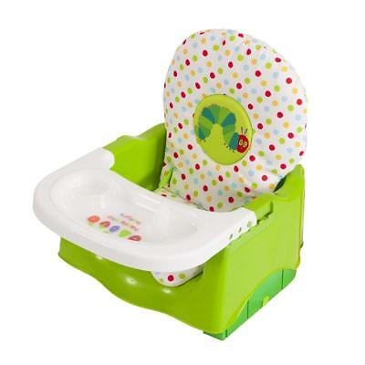 NEW - Eric Carle - Hungry Caterpillar Booster Seat - GREEN - FREE SHIPPING