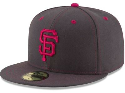 low priced a056d df5e4 San Francisco Giants New Era MLB Mother s Day 59FIFTY Flat Bill Cap Hat SZ  7 1