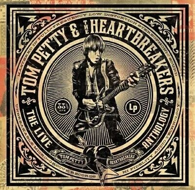 Tom Petty and the Heartbreakers Live Anthology (Vinyl) LP NEW. Wildflowers