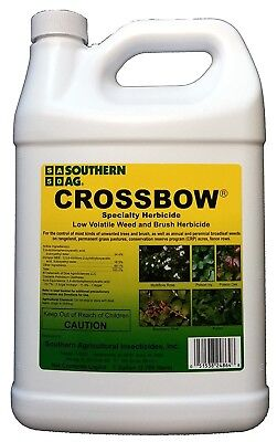 Crossbow Herbicide 1 Gallon 2 4 D Triclopyr Weed Brush Killer Southern Ag