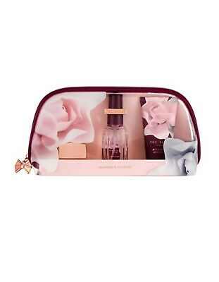Ted Baker London Pampered & Polished Gift Set Lotion,Spray, Lip Balm New