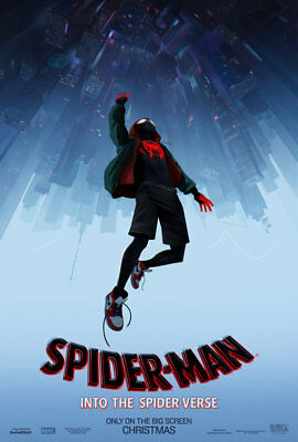 SPIDERMAN INTO SPIDERVERSE (2018) D/S Orig Movie Poster 2-Sided 27x40 Marvel NEW
