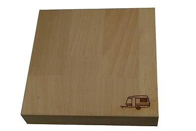 Mini Caravan Chopping Board - Solid Beech Chopping Board for Caravan