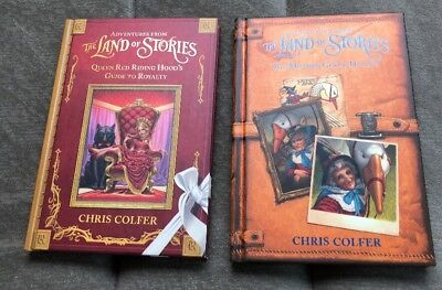 Adventures from the Land of Stories 2 Book Set Mother Goose Diaries & Queen Red