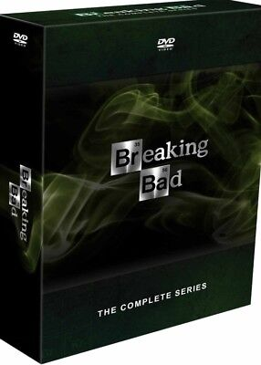 Breaking Bad The Complete Series Season 1-6 (DVD 2014 21-Disc) 1 2 3 4 5 6