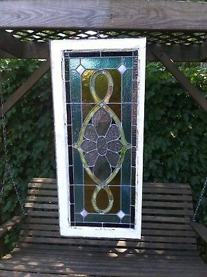 1900's stained glass window