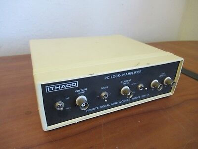 Ithaco 3981-A PC Lock-In Amplifier #6887 Q