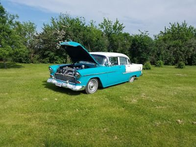 1955 Chevrolet Bel Air/150/210 4 door sedan 1955 Chevy Bel-Air