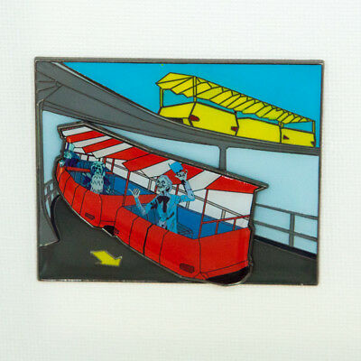 Ghost Rides of Parks Past: People Mover Jumbo Fantasy Disney pin