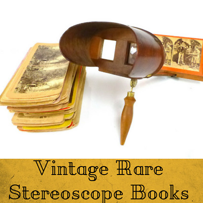96 Rare Stereoscope Books Photography History Optical Glass Instrument/ Data DVD