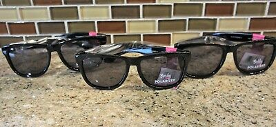 3f3f9e31bfebd BERKLEY LADIES POLARIZED Sunglasses pink black frame Smoke lense 100 ...