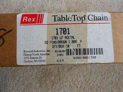 rexnold, 1701 LF, table top chain