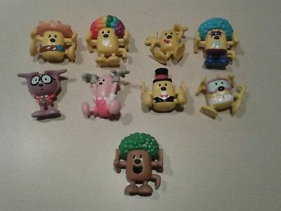Lot Wow Wow Wubbzy Kooky Kollectibles toys Action Figures Mattel 9 total