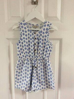 next girls floral playsuit age 3 years