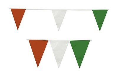 Bunting Italy Mexico 20 Flags Red White Green Football Italian Mexican Ten Meter