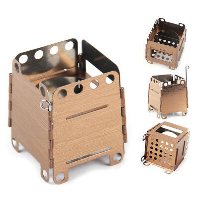Foldable Stove Outdoor Camping Cooking BBQ Wood Stove Portable Picnic Burner