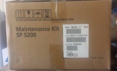 Genuine Ricoh 406686 SP 5200HA Maintenance Kit M868-17