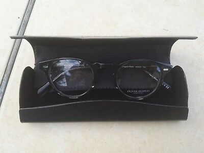 Oliver Peoples Gregory Peck 5186 O'Malley 5183 Gray Black 45-23-150 glasses new7