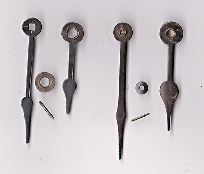 Clock  Parts , 2 Pairs Of Clock  Hands ,  64 / 45 ,  70 /  54