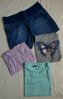 Maternity Bundle. Benetton & George. In Excellent Condition. Size 12 - 14.