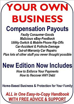 Save & Make Money: Compensation Payouts. Debt Collection. Business Opportunity