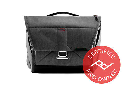 "Peak Design Everyday Messenger Bag V1 (13"", Charcoal) - PD Certified"