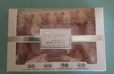 WIPOUCH x tokidoki refillable wipe pouch - Donutella WIPOUCH 60