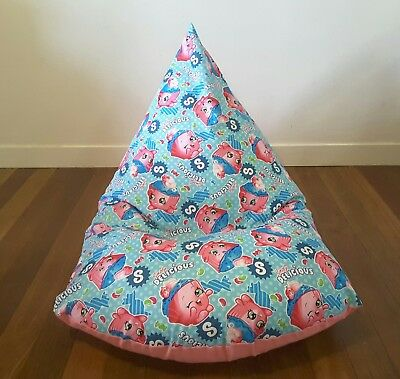 Shopkins Kids Bean Bag Cover - Pink - Last One!