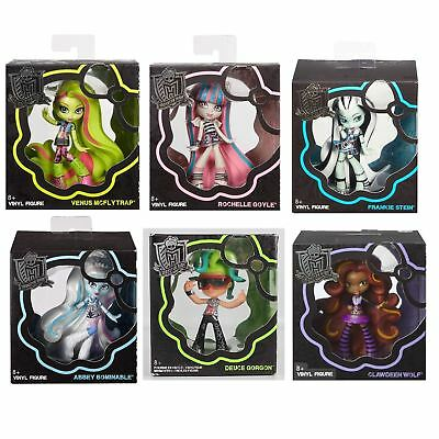 Monster High Doll Vinyl Figure Dolls Toy Collectable 4.5 '' New & Genuine 8+