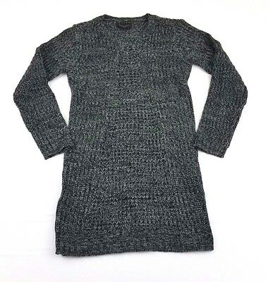 0f9a2551a60 Romeo   Juliet Couture Gray Medium Knit Long Sleeve Casual Sweater Dress  Size S