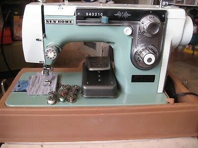 VINTAGE NEW Home Sewing Machine Model 40 With Foot Pedal And Mesmerizing New Home Sewing Machine Foot Pedal