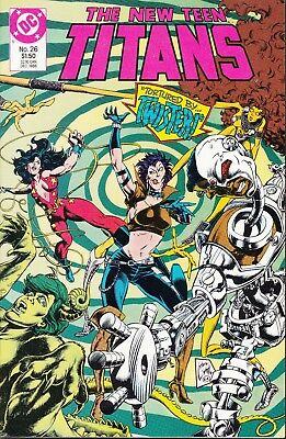 New Teen Titans  #26 1986 Dc ''tortured By Twister'' Wolfman/ Barreto...vf/vf+