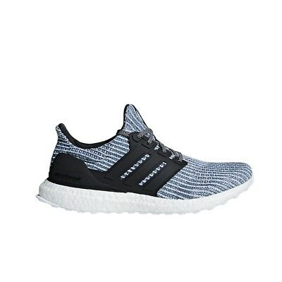 9d8e4fd9141 Adidas UltraBoost Parley (Cloud White Carbon Blue Spirit) Men s Shoes BC0248
